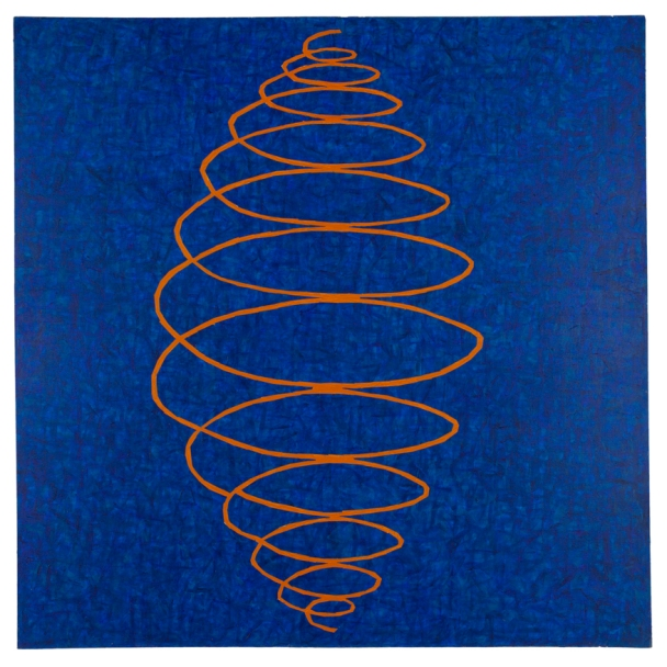 Sane, 1981, acrylic on canvas, 55 x 55 inches